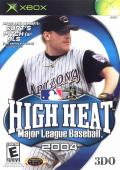 High Heat Major League Baseball 2004 Xbox Front Cover