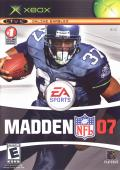 Madden NFL 07 Xbox Front Cover