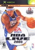 NBA Live 2005 Xbox Front Cover