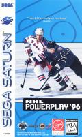 NHL Powerplay '96 SEGA Saturn Front Cover