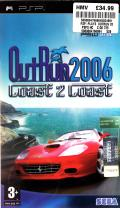 OutRun 2006: Coast 2 Coast PSP Front Cover