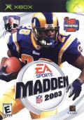 Madden NFL 2003 Xbox Front Cover