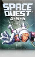 Space Quest 4+5+6 Windows Front Cover