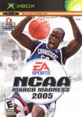 NCAA March Madness 2005 Xbox Front Cover
