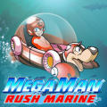 Mega Man: Rush Marine BlackBerry Front Cover