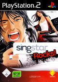Singstar Rocks! PlayStation 2 Front Cover