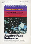 Demon Attack TI-99/4A Front Cover