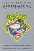 Frogger TI-99/4A Front Cover