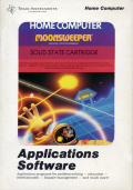 Moonsweeper TI-99/4A Front Cover