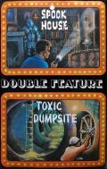 Spook House and Toxic Dumpsite TRS-80 Front Cover