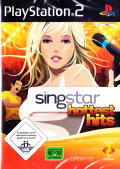 SingStar: Hottest Hits PlayStation 2 Front Cover