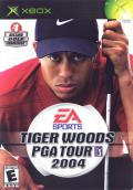 Tiger Woods PGA Tour 2004 Xbox Front Cover