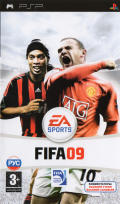 FIFA Soccer 09 PSP Front Cover