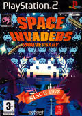 Space Invaders Anniversary PlayStation 2 Front Cover