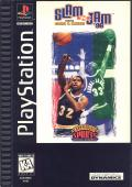 Slam 'N Jam '96 featuring Magic & Kareem PlayStation Front Cover