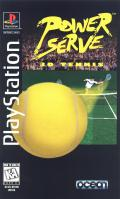 Power Serve 3D Tennis PlayStation Front Cover
