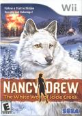 Nancy Drew: The White Wolf of Icicle Creek Wii Front Cover