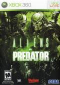 Aliens vs Predator Xbox 360 Front Cover