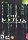 Enter the Matrix Xbox Front Cover