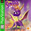 Spyro the Dragon PlayStation Front Cover