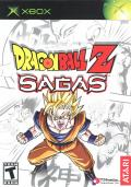 Dragon Ball Z: Sagas Xbox Front Cover