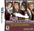 Ace Attorney Investigations: Miles Edgeworth Nintendo DS Front Cover
