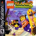 LEGO Island 2: The Brickster's Revenge PlayStation Front Cover
