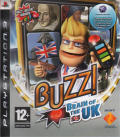 Buzz!: Brain of the UK PlayStation 3 Front Cover