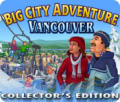 Big City Adventure: Vancouver (Collector's Edition) Windows Front Cover