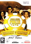 World Series of Poker: Tournament of Champions Wii Front Cover