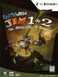 Earthworm Jim 1 & 2: The Whole Can 'O Worms DOS Front Cover