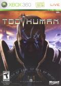 Too Human Xbox 360 Front Cover