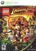 LEGO Indiana Jones: The Original Adventures Xbox 360 Front Cover