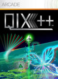 QIX++ Xbox 360 Front Cover