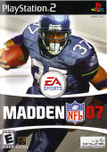 Madden NFL 07 PlayStation 2 Front Cover