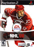 NHL 08 PlayStation 2 Front Cover