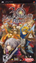 Half-Minute Hero PSP Front Cover