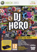 DJ Hero Xbox 360 Front Cover