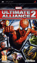 Marvel Ultimate Alliance 2 PSP Front Cover