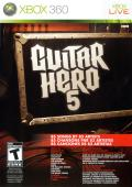 Guitar Hero 5 Xbox 360 Front Cover