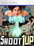 Shoot 1UP Xbox 360 Front Cover 1st version