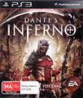 Dante's Inferno PlayStation 3 Front Cover
