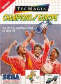 Champions of Europe SEGA Master System Front Cover