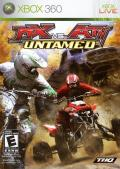 MX vs. ATV Untamed Xbox 360 Front Cover