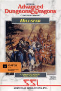 Hillsfar Commodore 64 Front Cover