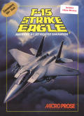 F-15 Strike Eagle Commodore 64 Front Cover