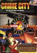 CD-ROM 2 Pak: Crime City / The Dagger of Amon Ra DOS Front Cover