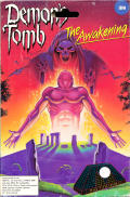 Demon's Tomb: The Awakening DOS Front Cover