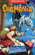 Cavemania Commodore 64 Front Cover