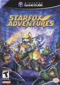 Star Fox Adventures GameCube Front Cover